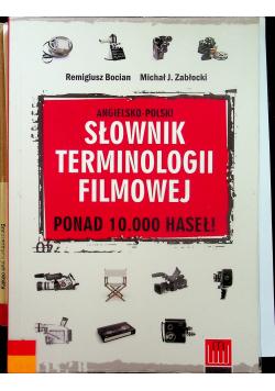 Angielsko polski słownik terminologii filmowej