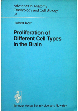 Proliferation of Different Cell Types in the Brain