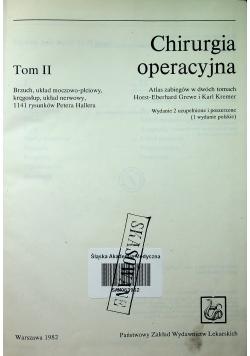 Chirurgia operacyjna Tom 2