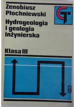 Hydrogeologia i geologia inżynierska  klasa III