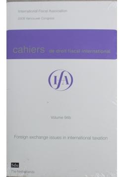 Cahiers de droit fiscal international