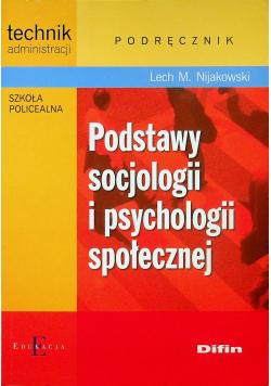 Podstawy socjologii i psychologii społecznej Podręcznik