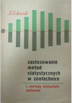 Zastosowanie metod statystycznych w zootechnice