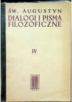 Dialogi i Pisma Filozoficzne IV