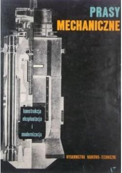 Prasy mechaniczne