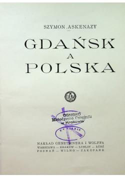 Gdańsk a Polska 1923r
