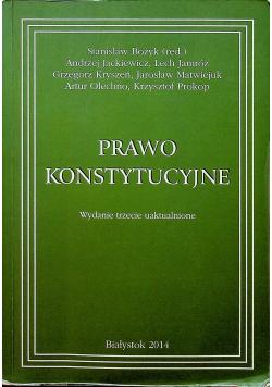 Prawo konstytucyjne wydanie trzecie uaktualnione