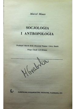 Socjologia i antropologia