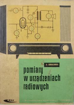 Pomiary w urządzeniach radiowych