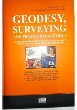 Geodezja geodezyjne pomiary szczegółowe i etyka zawodowa