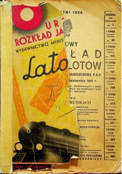 Urzędowy Rozkład Jazdy i Lotów 1938 r.