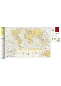 Mapa zdrapka - Travel Map Geography World