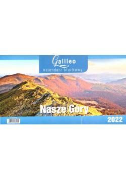 Kalendarz 2022 Biurkowy Galileo Nasze Góry CRUX