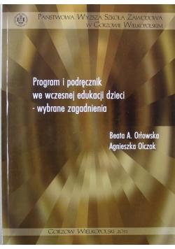 Program i podręcznik we wczesnej edukacji dzieci wybrane zagadnienia