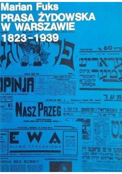 Prasa żydowska w Warszawie 1823 - 1939
