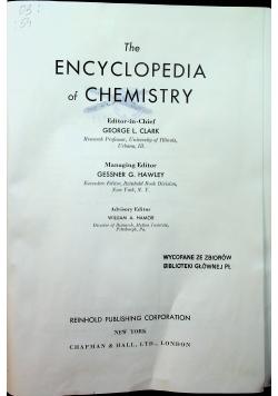 The encyclopedia of chemistry