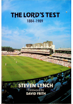 The Lords Test 1884 - 1989