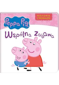 Świnka Peppa. Historie z morałem. Współna zabawa