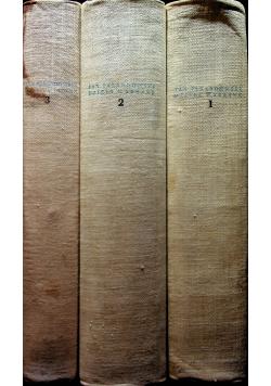 Parandowski Dzieła wybrane 3 tomy od 1 do 3