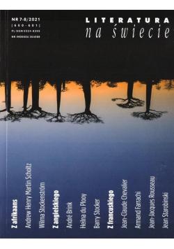 Literatura na świecie 7-8/2021