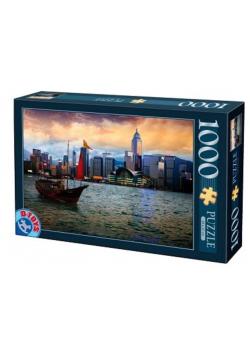 Puzzle 1000 Widok na Hongkong