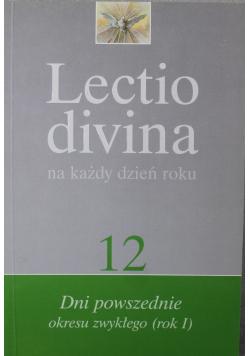 Lectio divina 12 na każdy dzień roku