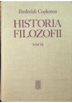 Historia filozofii tom VII