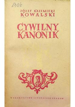 Cywilny kanonik