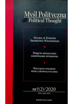 Myśl polityczna 1