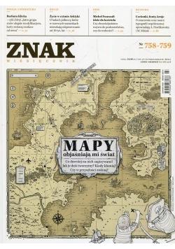 Miesięcznik ZNAK Mapy objaśniają mi świat