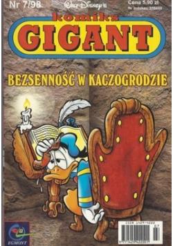 Komiks Gigant Bezsenność w Kaczogrodzie