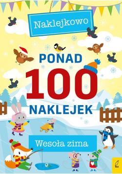 Ponad 100 naklejek Wesoła zima