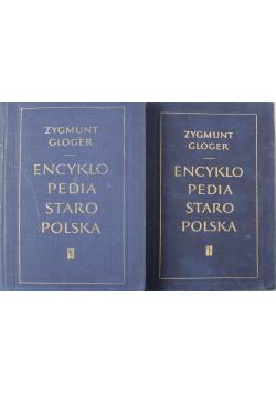 Encyklopedia staropolska tom 1 i 2