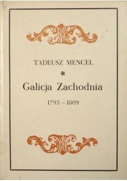 Galicja Zachodnia 1795 - 1809