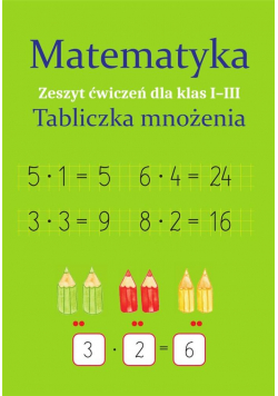 Matematyka. Tabliczka mnożenia SP 1-3