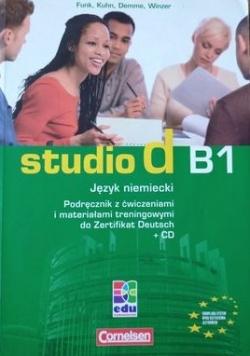 Studio d B1 Język niemiecki Podręcznik z ćwiczeniami