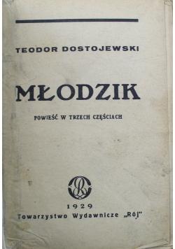 Młodzik Powieść w trzech częściach 1929 r.
