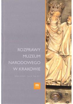 Rozprawy Muzeum Narodowego w Krakowie T.10