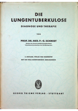 Die lungentuberkulose diagnose und therapie