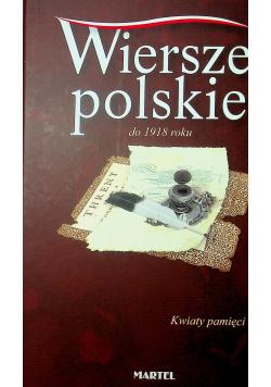 Wiersze polskie do 1918 roku