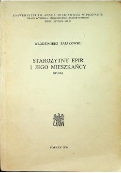 Starożytny Epir i jego mieszkańcy