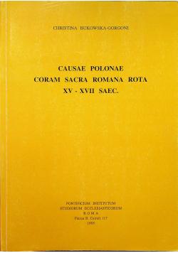 Causae polonae coram sacra Romana Rota