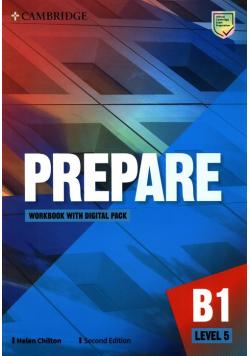 Prepare Level 5 Workbook with Digital Pack