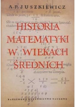 Historia matematyki w wiekach średnich