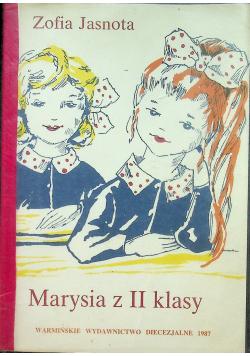 Marysia z II klasy