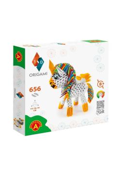Origami 3D - Jednorożec ALEX