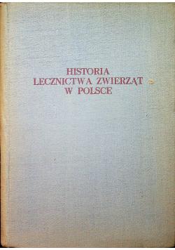 Historia lecznictwa zwierząt w Polsce
