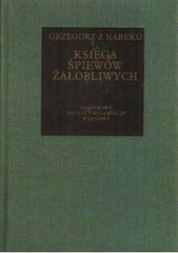 Księga śpiewów żałobliwych