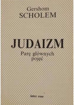 Judaizm   Parę głównych pojęć