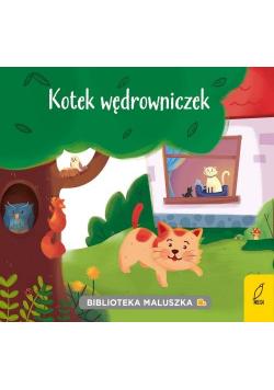 Biblioteka maluszka Kotek wędrowniczek